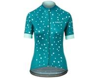 Image 1 for Giro Women's Chrono Sport Short Sleeve Jersey (True Spruce Blossom) (M)