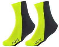 Gore Wear Partial Gore Windstopper Overshoes (Yellow/Black)