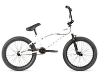 "Haro Bikes 2021 Downtown DLX BMX Bike (20.5"" Toptube) (White)"