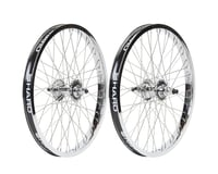Haro Bikes Lineage Super Pro 48H Wheels (Chrome)