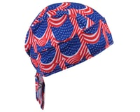 Image 2 for Headsweats Shorty Flag Skull Cap - Performance Exclusive (Red/White/Blue) (One Size)
