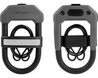 Hiplok DXC Wearable Hardened Steel Shackle U-Lock and Cable (Gray) (14mm) | relatedproducts
