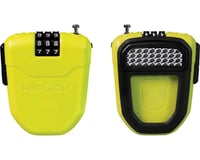 Image 1 for Hiplok FX Wearable Cable Lock: Lime