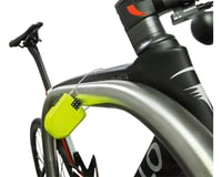 Image 2 for Hiplok FX Wearable Cable Lock: Lime