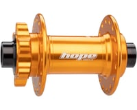 Hope Pro 4 Front Disc Hub (Orange) (32H) (15mm Boost Axle) | relatedproducts