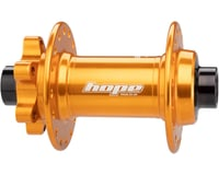 Image 2 for Hope Pro 4 Front Disc Hub (Orange) (32H) (15mm Boost Axle)
