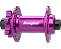 Image 2 for Hope Pro4 Disc Front Hub (Purple) (6-Bolt) (15 x 110mm Boost) (32H)
