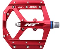 "HT AE03 (Evo+) Platform Pedal: 9/16"" Red 