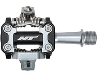 "HT M1 Aluminum Clipless Pedal: 9/16"" Black"