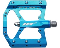 "HT AE05 Evo+ Pedals - Platform, Aluminum, 9/16"", Marine Blue 