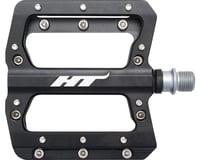 "HT AN14A Nano Pedals - Platform, Aluminum, 9/16"", Black"