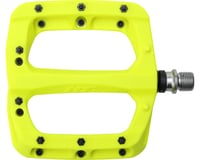 "HT PA03A Platform Pedal: 9/16"" Neon Yellow 