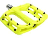 """Image 2 for HT PA03A Platform Pedal: 9/16"""" Neon Yellow"""