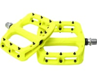 """Image 3 for HT PA03A Platform Pedal: 9/16"""" Neon Yellow"""