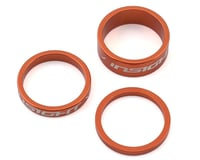 "INSIGHT Alloy Headset Spacers (Orange) 1"" 3mm/5mm/10mm"