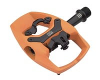 iSSi Flip III Aluminum Pedals (Orange You Glad)