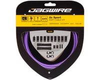 Jagwire 2x Sport Shift Cable Kit SRAM/Shimano (Purple)