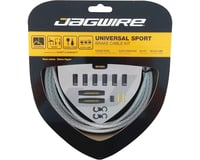 Jagwire Universal Sport Brake Cable Kit (Braided White) (Stainless) | alsopurchased