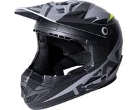 Image 1 for Kali Zoka Youth Helmet (Dual Solid Matte Black/Lime)