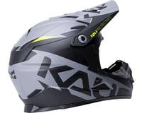 Image 2 for Kali Zoka Youth Helmet (Dual Solid Matte Black/Lime)