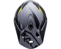 Image 3 for Kali Zoka Youth Helmet (Dual Solid Matte Black/Lime)