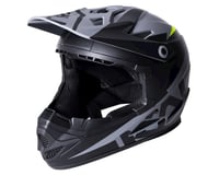 Image 1 for Kali Zoka Helmet (Dual Solid Matte Black/Lime) (XL)