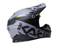 Image 2 for Kali Zoka Helmet (Dual Solid Matte Black/Lime) (XL)