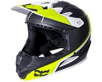 Image 1 for Kali Zoka Helmet (Dual Block Matte Lime) (XL)