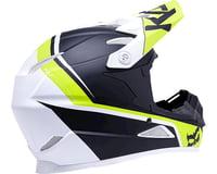 Image 2 for Kali Zoka Helmet (Dual Block Matte Lime) (XL)