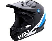Kali Zoka Switchback Youth Helmet (Gloss Black/Blue/White)