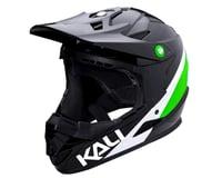 Image 1 for Kali Zoka Helmet (Gloss Black/Lime/White) (L)