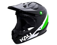 Image 1 for Kali Zoka Helmet (Gloss Black/Lime/White) (XL)