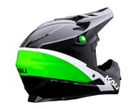 Image 2 for Kali Zoka Helmet (Gloss Black/Lime/White) (XL)