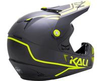 Image 2 for Kali Shiva 2.0 Helmet (Dual Matte Black/Lime) (XS)