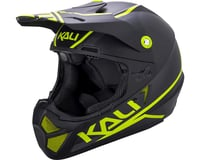 Image 1 for Kali Shiva 2.0 Helmet (Dual Matte Black/Lime) (S)