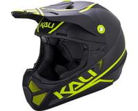Image 1 for Kali Shiva 2.0 Helmet (Dual Matte Black/Lime) (M)