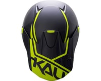 Image 3 for Kali Shiva 2.0 Helmet (Dual Matte Black/Lime) (M)