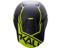 Image 3 for Kali Shiva 2.0 Helmet (Dual Matte Black/Lime) (L)