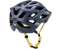 Image 3 for Kali Lunati Sync Helmet (Matte Navy/Yellow) (S/M)