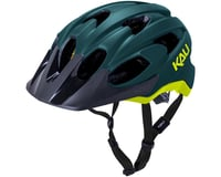 Image 1 for Kali Pace Helmet (Matte Teal/Yellow) (S/M)