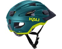 Image 3 for Kali Pace Helmet (Matte Teal/Yellow) (S/M)