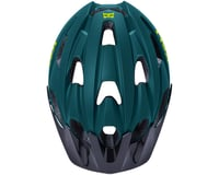 Image 2 for Kali Pace Helmet (Matte Teal/Yellow) (L/XL)