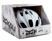 Image 4 for Kali Therapy Helmet (Solid Matte White) (L/XL)