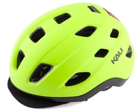Kali Traffic Helmet w/ Integrated Light (Matte Fluorescent Yellow)