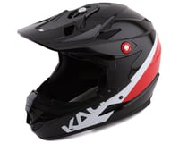 Kali Zoka Pinner Full Face Helmet (Gloss Black/Red/White)