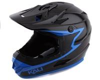 Kali Zoka Grit Full Face Helmet (Gloss Black/Blue)