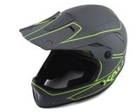 Image 1 for Kali Alpine Rage Full Face Helmet (Matte Grey/Fluorescent Yellow) (S)