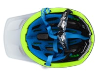 Image 3 for Kali Maya 2.0 Helmet (Matte White/Fluorescent Yellow) (S/M)