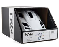 Image 4 for Kali Maya 2.0 Helmet (Matte White/Fluorescent Yellow) (S/M)