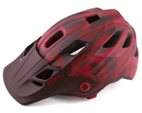 Kali Maya 3.0 Mountain Helmet (Camo Matte Red/Burgandy)